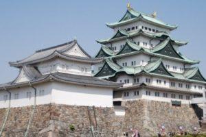 Yaponiyaning Nagoya shahridagi ko'hna qasr