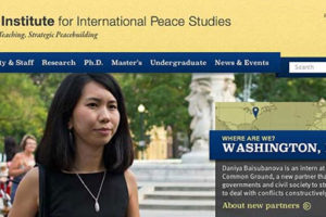 Apply Now for MA in International Peace Studies