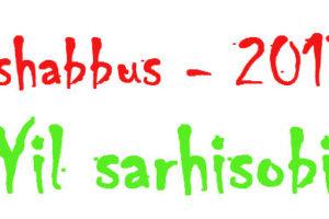 Tashabbus – 2013: Yil sarhisobi