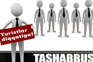 Tashabbus ishga qabul qiladi